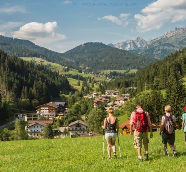 Wanderhotel in Salzburg