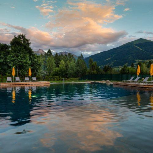 Badeurlaub in den Alpen